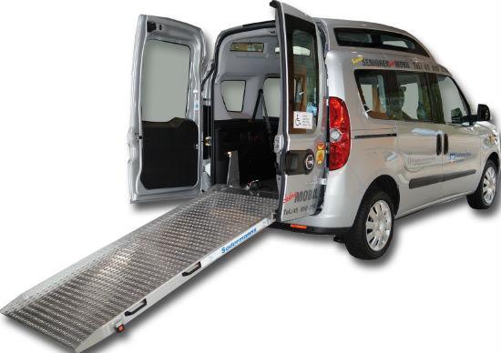 Fahrzeug-Rampe -550