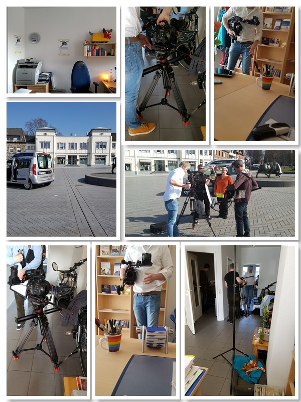 Filmaufnahmen beim Seniorenmobil